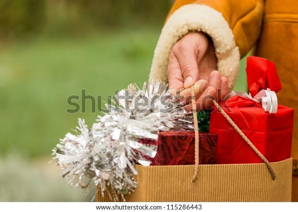 Shopping - Christmas shopping (shopping bags)