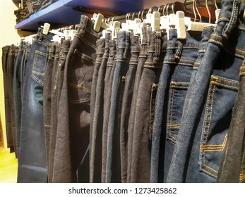 shopping and jeans fashion