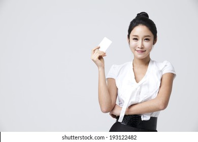 shopping Korean woman