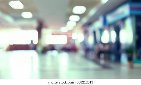 shopping mall department store, image blur background