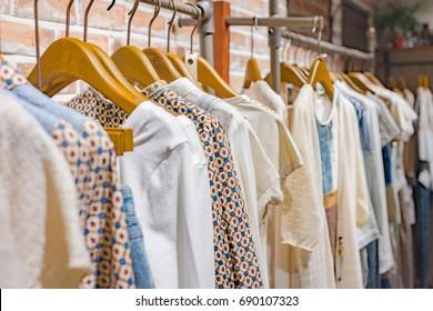 Shopping mall fashion show shop