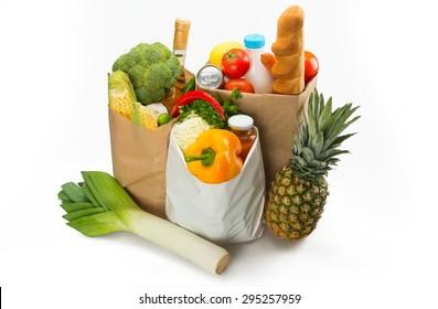 Shopping, shopper, produce.