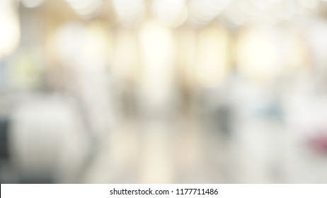 Shopping store Blurred background