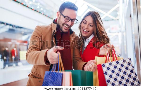 shopping dating fun