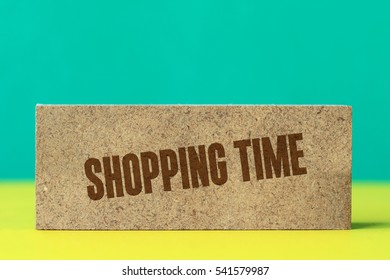 Shopping Time, Business Concept
