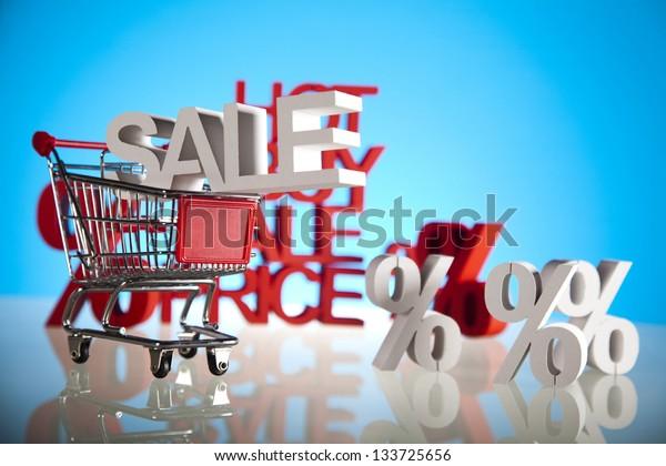 Shopping trolley, sale