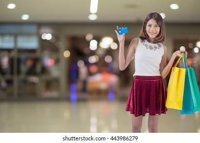 Shopping, Women, Customer.