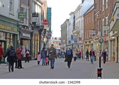 Shopping in York UK