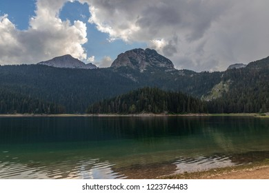Shore of Black Lake, Durmitor National Park, Montenegro