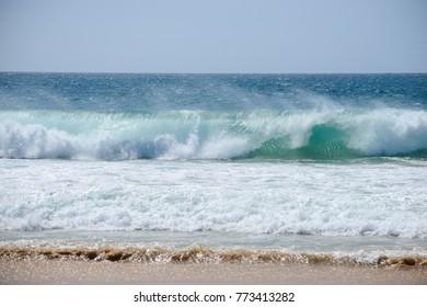 Shore break Portugal