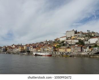 the shore of the douro in porto