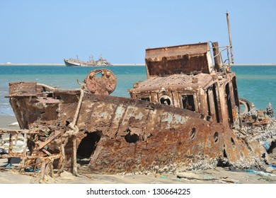 The shore of the Gulf of Aden
