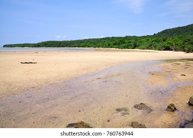 The shore of Iriomote Island, Okinawa, Japan