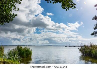 Shore of Lake Steinhude in Mardorf