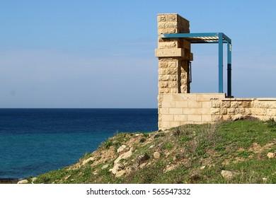 shore of the Mediterranean Sea