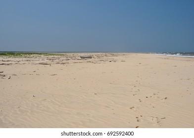 Shore of the ocean, Mozambique.