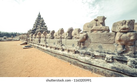The Shore Temple in Chennai Tamilnad India