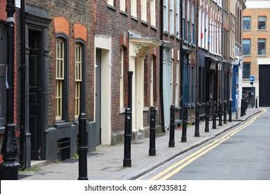 Shoreditch, London Borough of Hackney. UK architecture.