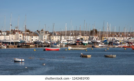 SHOREHAM-BY-SEA, WEST SUSSEX/UK - FEBRUARY 1 : View of the harbour at Shoreham-by-sea West Sussex on February 1, 2010
