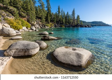 The Shoreline of Lake Tahoe