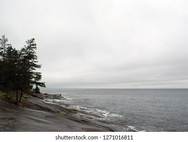Shoreline of Sturdies Bay, Galiano Island