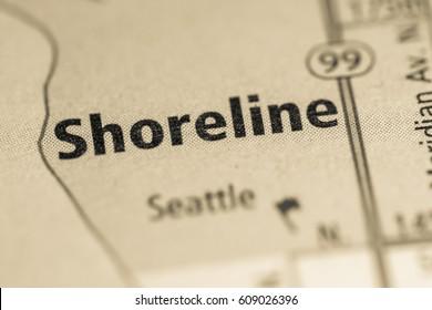 Shoreline. Washington. USA