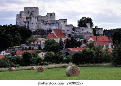 """A short drive from Prague, one finds the magnificent """"Rabi"""" Ruins, dating back to the fourteenth century."""