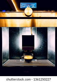 Short Expreso With Caffe Machine