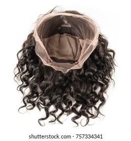 short loose wavy black human hair wig