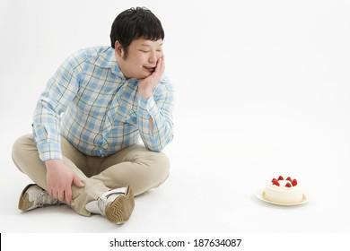 shortcake and man
