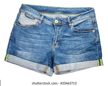 Shorts isolated on a white background clipping path