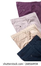 shorts isolated over white background