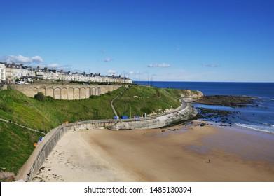 Shortsands beach, Tynemouth, Northumberland, UK