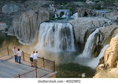 Shoshone Falls Idaho.