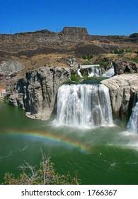 Shoshone Falls and Rainbow
