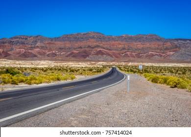 Shoshone Highway 178 near Death Valley