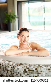 Shot of a beautiful young woman relaxing at the beauty spa.