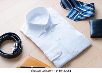 A shot of a businessman's fashion item