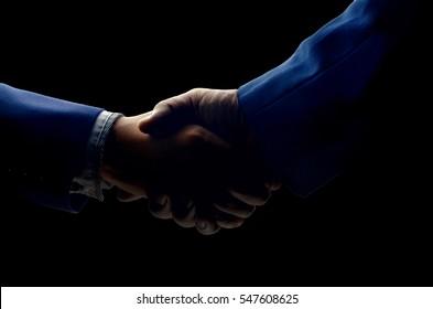 shot of businessmen handshaking.acquisition concept.