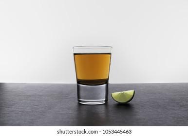 Shot de tequila Reposado