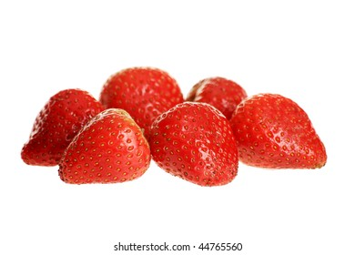 Shot of a fresh strawberry.