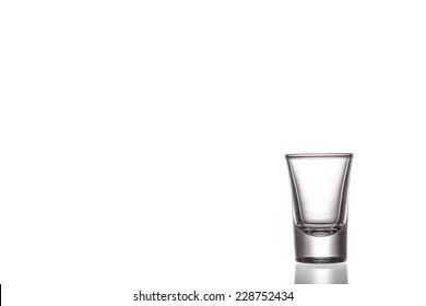 Shot Glass  isolated on white background