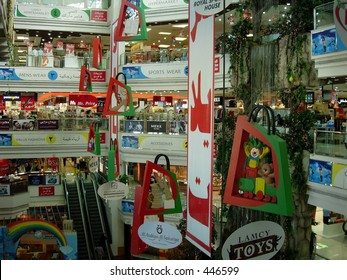 shot of a mall interior in dubai