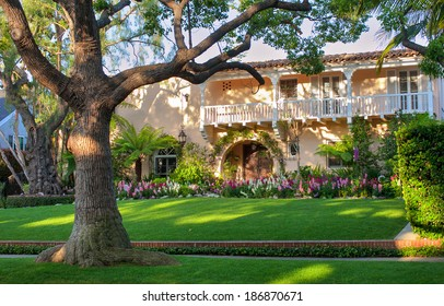 A shot of pretty Beverly Hills house