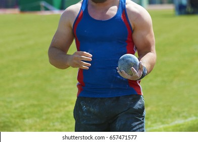 shot putter man