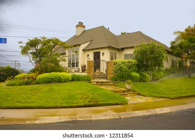 Shot of a Southern California Traditionally Styled Home