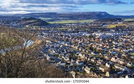 Shot of Stirling from the Wallace Monument