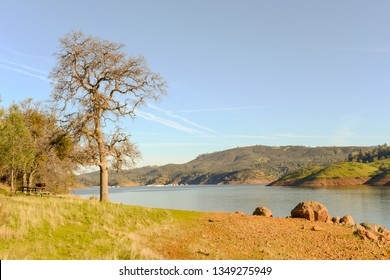 shot of this popular Don Pedro Reservoir in the Sierra Foothills - Tuolomne County, California - Image