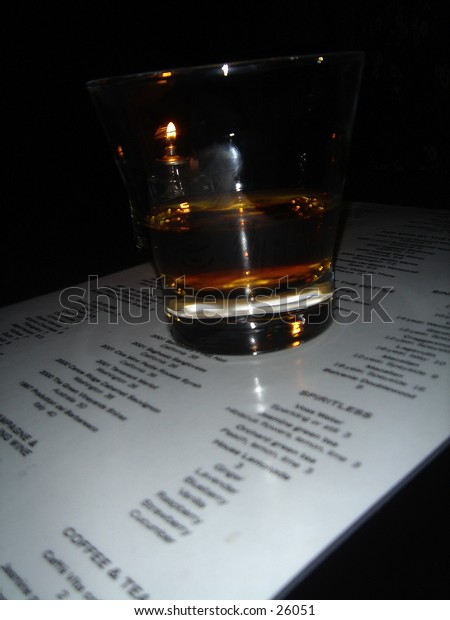 A shot of whiskey