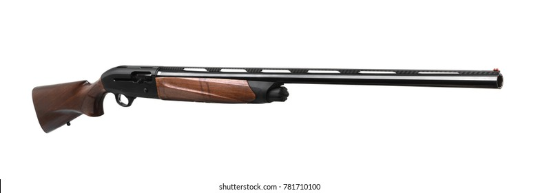Shotgun isolated on white background